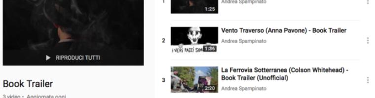 YouTube aggiornato con una nuova sezione: Book Trailer
