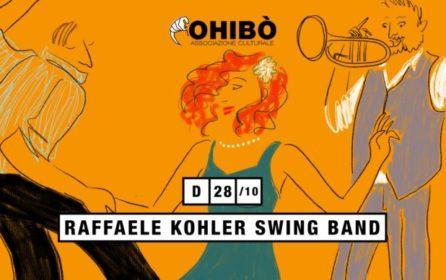 Domenica 28 ottobre al cajon con Raffaele Kohler